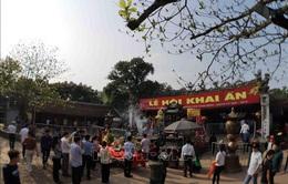 Dừng tổ chức Lễ hội Khai ấn đền Trần ở Nam Định do lo ngại virus Corona