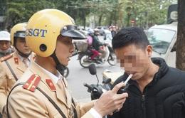 Hà Nội: Xử lý hơn 550 trường hợp vi phạm nồng độ cồn trong 1 tháng