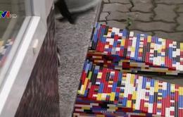 Lắp ghép đường riêng cho xe lăn từ Lego