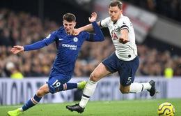Lịch trực tiếp bóng đá Ngoại hạng Anh vòng 27: Chelsea đụng độ Tottenham, Man Utd hưởng lợi