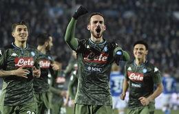 Napoli ngược dòng thành công trước Brescia