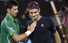 Djokovic: Ở tuổi 38, Federer xứng đáng với mọi lời ca ngợi