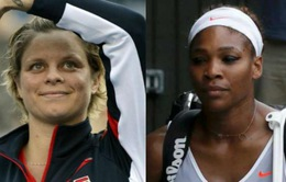 Serena Williams ca ngợi màn trở lại của Kim Clijsters