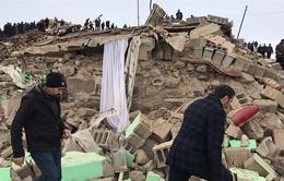 Động đất tại biên giới Thổ Nhĩ Kỳ - Iran