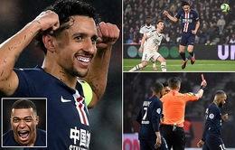 PSG 4-3 Bordeaux: Neymar nhận thẻ đỏ trong chiến thắng nghẹt thở!