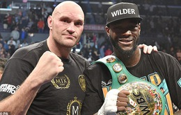 Tyson Fury sẵn sàng tái đấu với Deontay Wilder trong tương lai