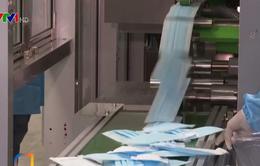 Trung Quốc lắp ráp thành công máy sản xuất 1.000 khẩu trang mỗi phút