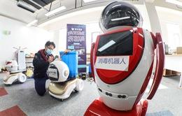 Robot thông minh 5G để phòng dịch tại Trung Quốc