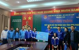 Tuổi trẻ Thủ đô tặng quà hỗ trợ Vĩnh Phúc chống dịch COVID-19