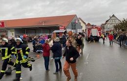 Lao xe vào đám đông tại Đức, nhiều người bị thương