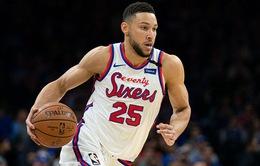 Philadelphia 76ers sẽ không vội vàng để Ben Simmons trở lại thi đấu