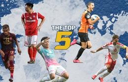 Danh sách 5 cầu thủ xuất sắc nhất lượt trận thứ 2 AFC Cup: Hải Huy, Phi Sơn góp mặt!