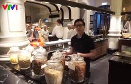Trải nghiệm buổi sáng tại bếp ăn khách sạn 5 sao