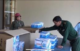 Kon Tum: Bắt giữ hơn 6.300 khẩu trang y tế chuẩn bị xuất lậu qua biên giới