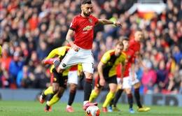 Bruno Fernandes nói gì sau khi ghi bàn thắng đầu tiên cho Man Utd?