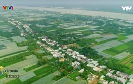Khám phá cù lao hình hạt gạo