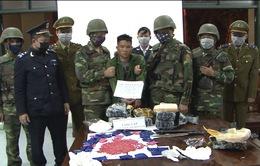Ngăn chặn 36.000 viên hồng phiến và 4 kg ma túy dạng đá từ Lào về Việt Nam