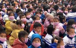 Hơn 30 học sinh ở Điện Biên có biểu hiện cúm, ho, sốt