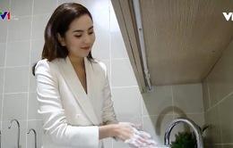 Rửa tay đúng cách để phòng nCoV
