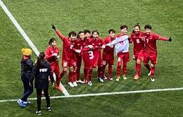 [KT] ĐT nữ Việt Nam 1-0 ĐT nữ Myanmar: ĐT nữ Việt Nam lọt vào vòng play-off