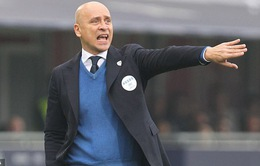 Brescia sa thải HLV Eugenio Corini lần thứ 2 trong mùa giải