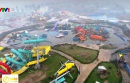 Nhiều vấn đề cần làm rõ trong tháo dỡ Công viên nước Thanh Hà
