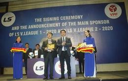 Ký kết nhà tài trợ chính Giải bóng đá LS V.League 1-2020 và LS V.League 2-2020