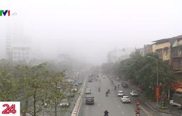 Sương mù nội đô ảnh hưởng người tham gia giao thông