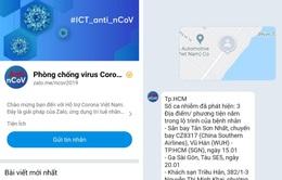 """Zalo ra mắt chatbot """"Phòng chống virus Corona"""", cho phép kiểm tra khu vực lây nhiễm"""