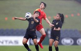 Thua đậm ĐT nữ Trung Quốc, ĐT nữ Thái Lan sớm dừng bước tại vòng loại Olympic 2020