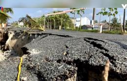 Cà Mau: Làm rõ nguyên nhân đường trăm tỷ sụt lún