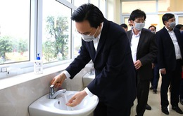 Bộ trưởng Bộ GD&ĐT kiểm tra công tác phòng chống, ứng phó dịch bệnh nCoV tại Nam Định