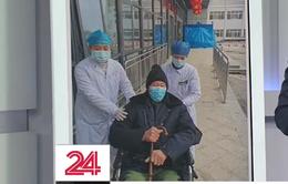 Trung Quốc: Cụ ông 91 tuổi nhiễm virus Corona xuất viện