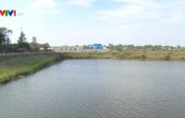 Hồ trữ nước ngọt lớn nhất ĐBSCL bị nhiễm mặn