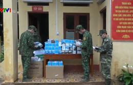 Bắt giữ 30.000 chiếc khẩu trang trên đường xuất lậu sang Trung Quốc