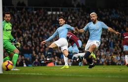 Lịch trực tiếp bóng đá Ngoại hạng Anh cuối tuần này: Man City so tài West Ham