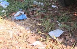 Xử phạt đối với hành vi vứt, thải bỏ khẩu trang không đúng nơi quy định