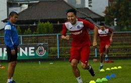 Than Quảng Ninh đội mưa tập luyện ở Bali chuẩn bị cho trận ra quân tại AFC Cup 2020