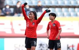 ĐT nữ Hàn Quốc 3–0 ĐT nữ Việt Nam: Thắng cách biệt, ĐT nữ Hàn Quốc giành ngôi nhất bảng