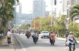 Ngày đầu tiên cấm xe trên 29 chỗ vào nội thành Nha Trang