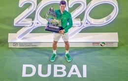 Novak Djokovic giành chức vô địch Dubai mở rộng