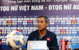 HLV Mai Đức Chung khẳng định ĐT nữ Việt Nam quyết tâm có bàn thắng vào lưới ĐT nữ Australia