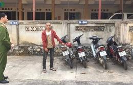 Bắt đối tượng trộm hàng loạt xe máy ở Sơn La