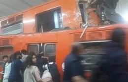 Tai nạn xe lửa ở Mexcico, 1 người chết, hơn 40 người bị thương