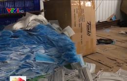 Dấu hiệu vi phạm tại cơ sở sản xuất khẩu trang Quốc Bảo
