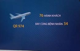 TP.HCM: Thông báo khẩn tìm hành khách trên chuyến bay cùng bệnh nhân số 34