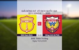 VIDEO Highlights: DNH Nam Định 2-1 Hồng Lĩnh Hà Tĩnh (Vòng 2 LS V.League 1-2020)