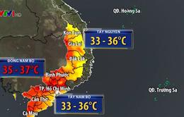 Cảnh báo cháy rừng ở Tây Nguyên và Nam Bộ