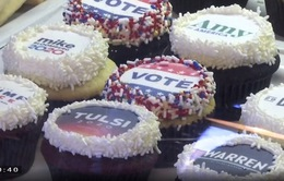 Mỹ: Thăm dò ý kiến cử tri bằng bánh ngọt