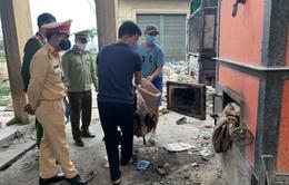 Bắc Giang: Tịch thu, tiêu hủy 2.500 kg da trâu không rõ nguồn gốc, xuất xứ